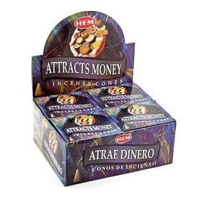Kiany.nl - HEM Atrracts Money cones/kegel wierook