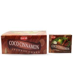 HEM Coco-Cinnamon cones