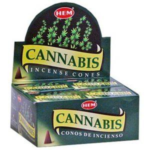 Kiany.nl - HEM Cannabis cones/kegel wierook