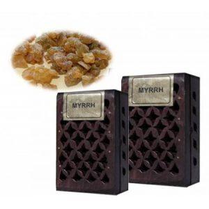 Kiany.nl - Wierook harsen Myrrh in een doosjes