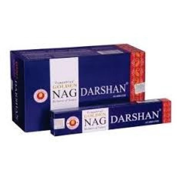 Kiany.nl - Vijashree Golden Nag Darshan wierook stokjes