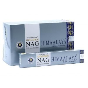 Kiany.nl - Vijashree Golden Nag Himaalaya wierook stokjes