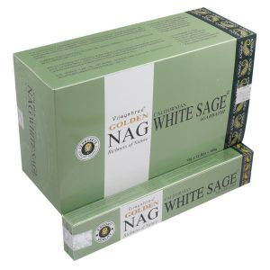 Kiany.nl - Vijashree Golden White Sage wierook stokjes