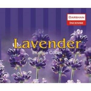 Kiany.nl - Lavender Darshan cones/kegel wierook