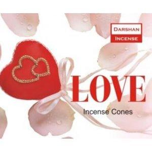 Kiany.nl - Love Darshan cones/kegel wierook
