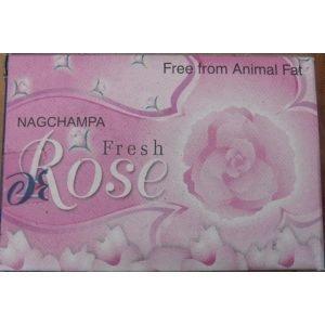 Kiany.nl - Nag Champa Fresh Rose Zeep 75 gram
