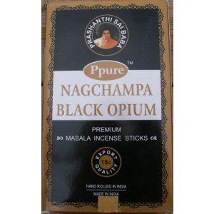 Kiany.nl - Nagchampa Black Opium wierook