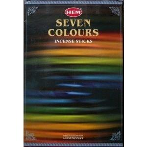 Kiany.nl - HEM Wierook stokjes - 7 Colours