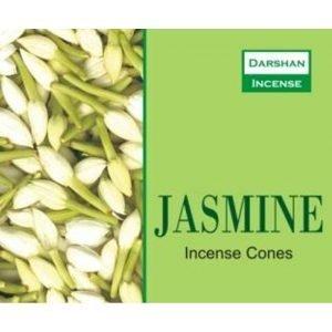 Kiany.nl - Jasmine Darshan cones/kegel wierook