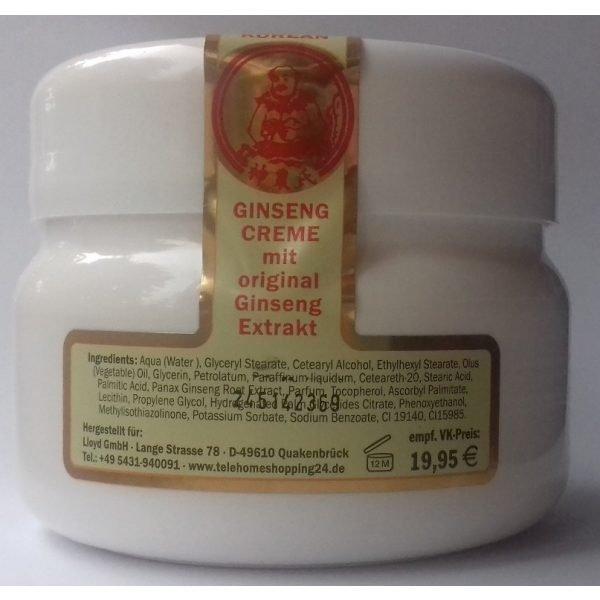 Origianl Korean Ginseng crème 250 ml.
