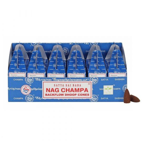 Kiany.nl - Nag Champa Back Flow cones